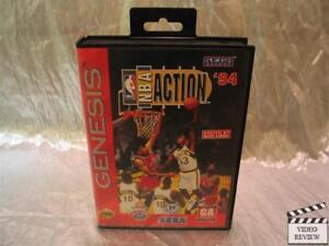 NBA Action '94 (Sega Genesis, 1994) With Marv Albert