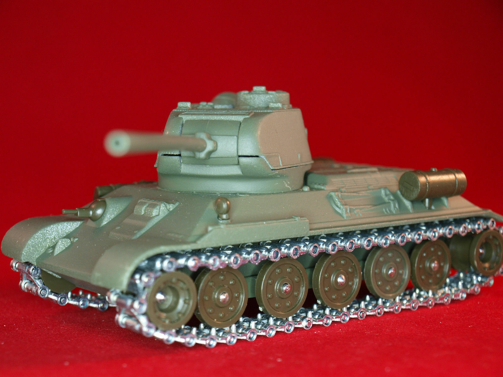 1 50 Solido T-34   85 Soviet Tank WWII Metall Model Made in France 3 1964