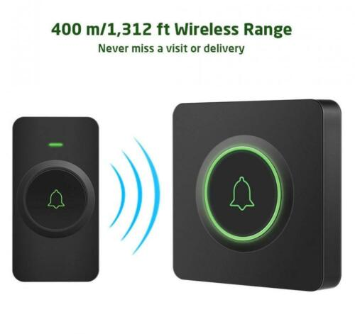 2... AVANTEK DB-21 Waterproof Wireless Doorbell Operating at Over 1300 Feet