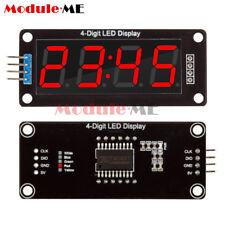 Red 056 Inch Tm1637 4bit Digital Led 7 Segment Clock Tube Display For Arduino