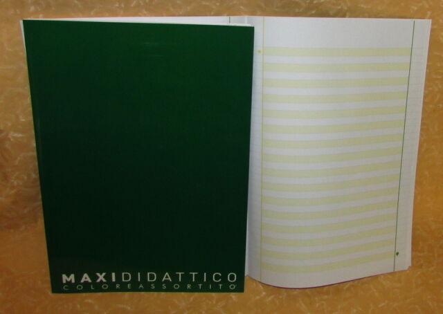 MAXI DIDATTICO QUADERNONE RIGATURA 1R QUINTA CL. IDEALE PER DISGRAFICI cod.15116