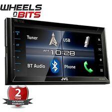 """JVC KW-V320BT 6.8"""" Double Din Car Stereo DVD  AV System Built in Bluetooth"""