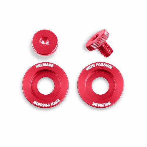 helmade Schraubenset Rot für Stilo ST5