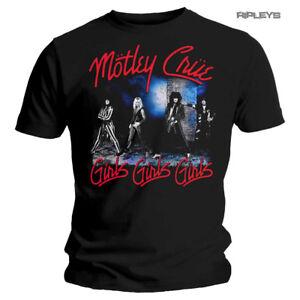 Official-Metal-T-Shirt-MOTLEY-CRUE-Girls-Girls-Girls-039-Smokey-Street-039-All-Sizes