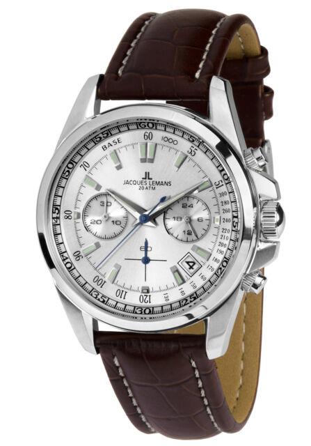 Jacques Lemans Man's Watch Chronograph Liverpool Chrono 1-1830B