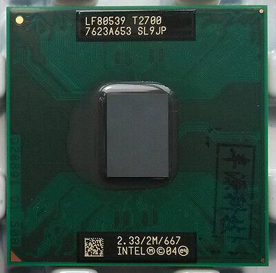 Intel Core DUO Yonah T2700 2.33G 2MB SL9JP Socket CPU