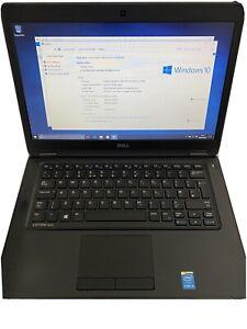 """Dell Latitude E5450 core i5 5th Gen 256GB SSD, 8GB RAM, Webcam 14"""" Laptop Win 10"""