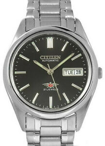 Citizen-Classic-Automatic-Men-039-s-Stainless-Strap-Watch-NH3120-64H