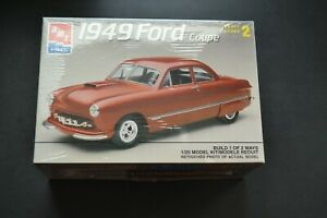 AMT-ERTL-1949-49-Ford-Coupe-Shoebox-Model-Kit-SEALED