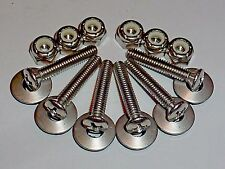 "Boat Deck Plate Bolts for 4"" to 6"" • Stainless Steel w/lock nuts & washers"