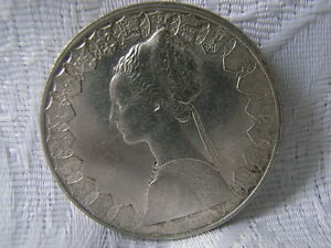 Münze Italien Silber 835 Er 500 Lire 1958 Ebay