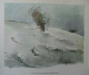 Kampfgebiet-Orel-Russland-Winter-1942-43-Granatwerferfeuer-Berichter-H-Schneider