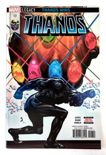 VF//NM Thanos #17 1st Print Donny Cates 2018, Marvel