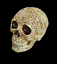thumbnail 4 - Unique-Engraved-Floral-Realistic-Life-Size-HUMAN-SKULL-Resin-Model-Decorated-Art