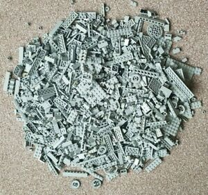 1-3-kg-LEGO-ORIGINAL-Old-Grey-spares-blocs-tuiles-technic-pieces-VINTAGE-amp-RARE