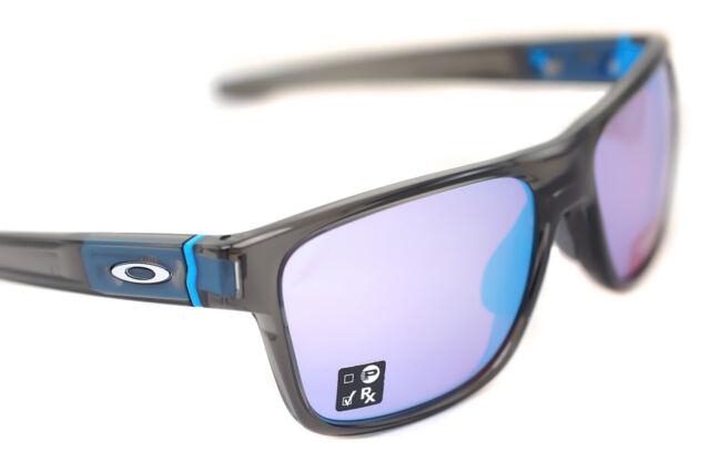OAKLEY CROSSRANGE OO9361-08 Mens Sport Sunglasses GREY SMOKE PRIZM SAPPHIRE SNOW