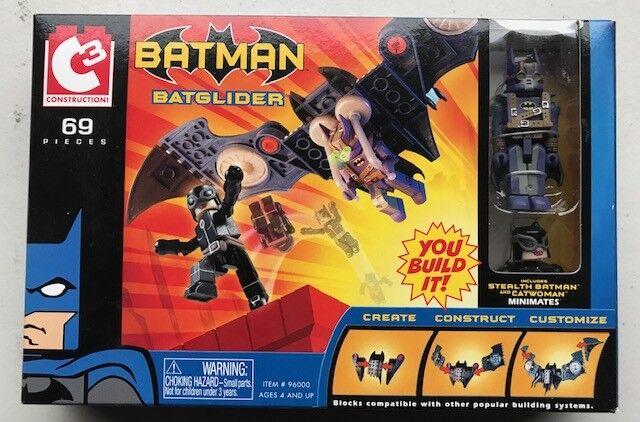 Batman & Batglider Set by C3 Construction 69 Pieces - Lego Suitable Item