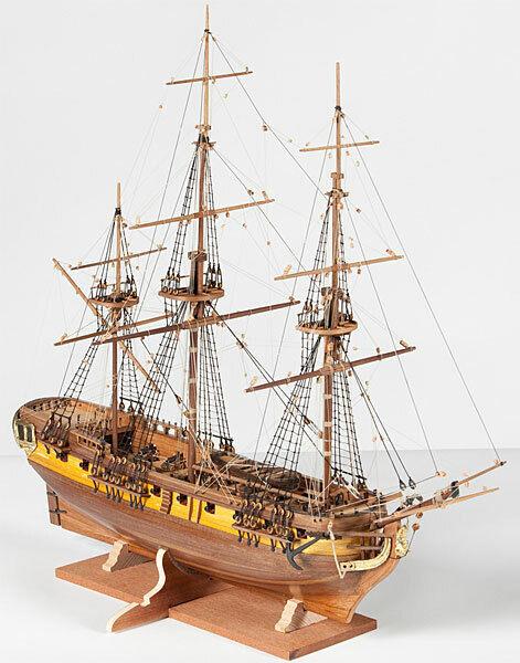 Corel HMS grisound SM59 kit nave in legno scala 1 100