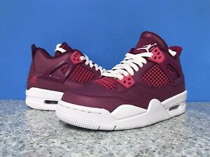 Adelante manga General  Nike AIR JORDAN 4 RETRO GS Shoes Valentines Day 487724 661 Sz 7Y / 8.5 WMNS  | eBay