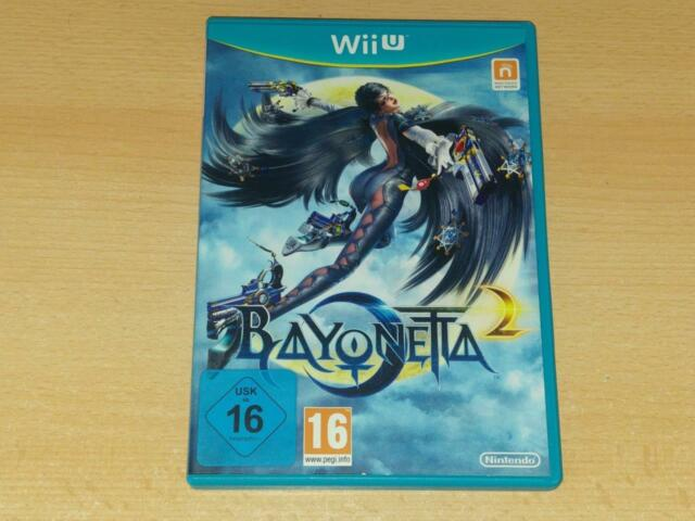 Bayonetta 2 Nintendo Wii U UK PAL Game **FREE UK POSTAGE**