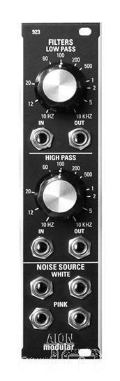 Aion Modular 923 Geräusch Filter  Eurorack Modul  Neu Detroit Modular]