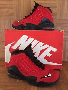 bd41de9233 RARE🔥 Nike Air Ken Griffey Jr Max II Red Black White 6.5Y 443957 ...