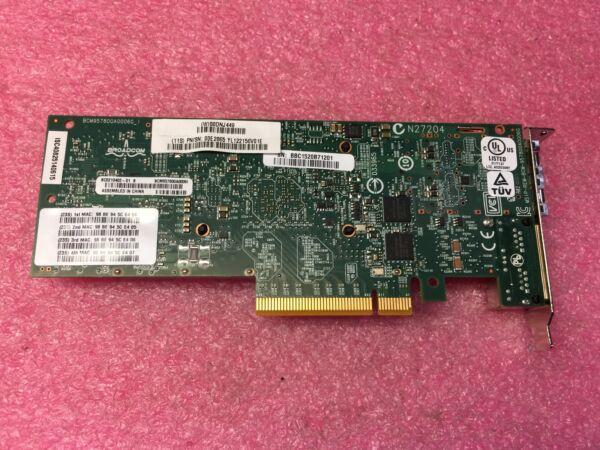 100% Waar 00e2865 Ibm Pcie2 X8 4port Ethernet 2x 10gbe Sfp Copper 2x 1gbe Rj45. Used Professioneel Ontwerp