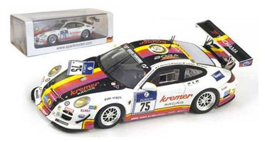 Spark sg093 Porsche 997 Gt3 Cup horas de Nürburgring 2013 - 1 43 Escala