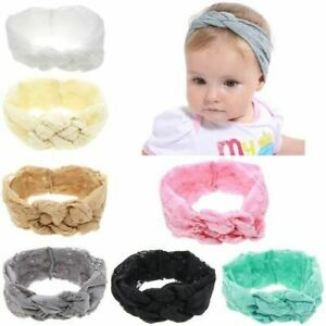 7-Pack-Baby-Girl-Solid-Lace-Knotted-Headband-Wide-Turban-Headwrap-Hair-Bands-Bow