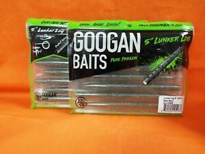 "Googan Baits Lunker Log 5/"" GLL-5-JUN Junebug"