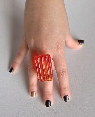 Antica Murrina Manhatan--Murano Glass Ring