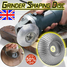 Carbide Wood Sanding Carving Shaping Disc For Angle Grinder Grinding Wheel 84mm