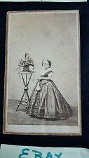 Famous Dwarf Women Lavinia Warren Stratton wife Gen Tom Thumb Cabinet CDV HS