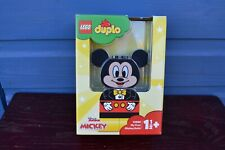 LEGO DUPLO 10898 My First Mickey Build Disney Mickey Mouse New Sealed FREE POST
