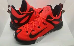 Details about MEN'S SIZE 10 NIKE ZOOM 2015 HYPERREV BASKETBALL SHOES 705370 601 RED BLACK