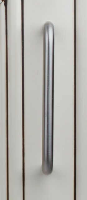 """5102-SS - 4"""" Brushed Satin Nickel Stainless Steel Solid Wire Pull Handle"""