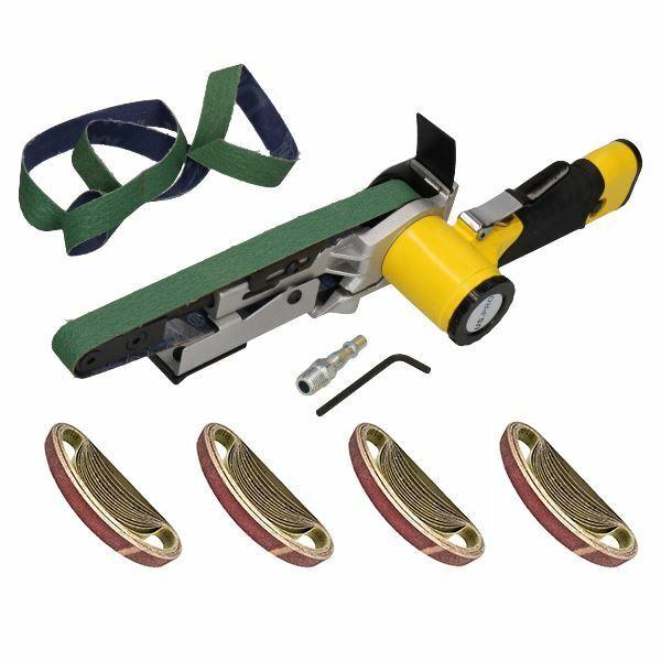 20mm Variable Speed Air Belt Sander 5 Speeds + 53   520mm x 20mm Belts