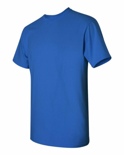 12 New Gildan 5000 100/% Heavy Cotton Royal Adult T-Shirts Bulk Lot S M L XL XXL