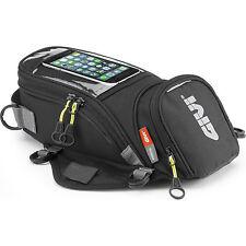 Givi Easy-T Range Magnetic Tank Bag 6L (EA106B) Universal Non Slip Base Tankbag