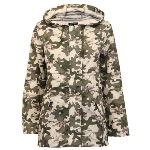 5f9318e838068 Camuflaje Capucha Militar Abrigo Kagool Para Soul Mujer Brave Chaqueta  wCTxAqnTRB