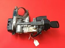 2003-2005 HONDA CIVIC IGNITION LOCK CYLINDER ASSEMBLY 2 CHIP KEYS USED OEM!