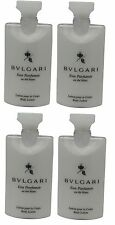 Bvlgari White Tea au the blanc Lotion lot of 4 each 2.5oz Total of 10oz