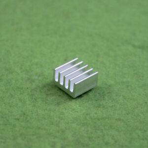 50pcs Aluminum 8.8x8.8x5MM Heat Sink for StepStick A4988 Chip IC LED Power