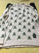 DROP DEAD BUZZING FLY TOP JUMPER MEDIUM MED M OLI SYKES BMTH
