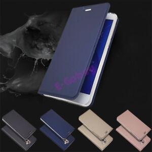 Pour-Huawei-Honor-6X-GR5-2017-de-Luxe-Slim-Cuir-Clapet-Portefeuille-Magnetique