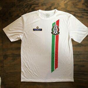 CLUB DEPORTIVO GUADALAJARA CHIVAS Mexico FMF Soccer Black Size T-SHIRT Camiseta