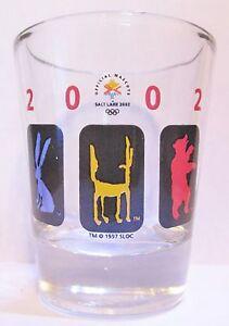 2002-SALT-LAKE-CITY-OLYMPICS-SHORT-SHOT-GLASS