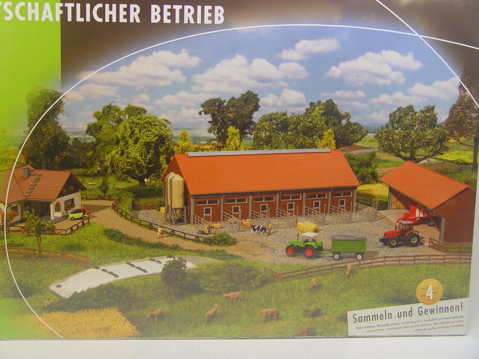 Azienda agricola-set completo-Faller Traccia N 1:160 - 232367   E