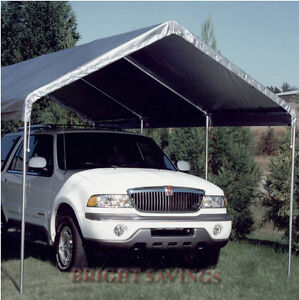 Image is loading NEW-KING-CANOPY-REPLACEMENT-COVER-TOP-SILVER-10- & NEW KING CANOPY REPLACEMENT COVER TOP - SILVER - 10u0027 X 20u0027 FREE ...