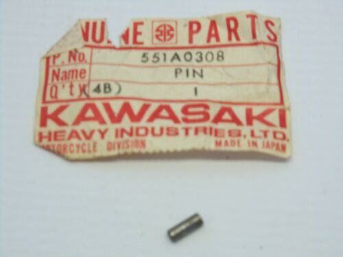 NOS KAWASAKI 551A0308 TRANSMISSION DOWEL PIN KAF400 KRT800